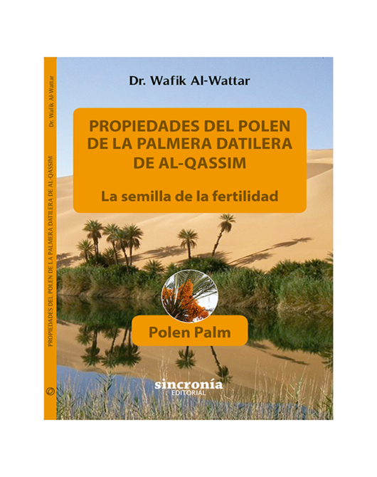 Libro Polen palm ( Polen de la palmera datilera )